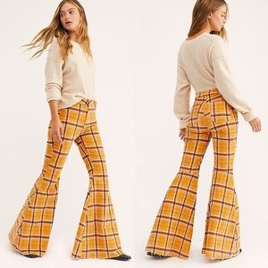 NWT Free People Just Float On Flare Cord Pants
